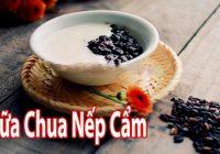 Hướng dẫn cách làm yaourt nếp cẩm tại nhà đơn giản nhất