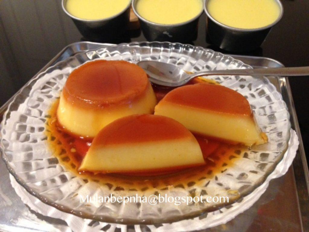 Cách làm bánh flan đơn giản tại nhà với nhiều cách khác nhau